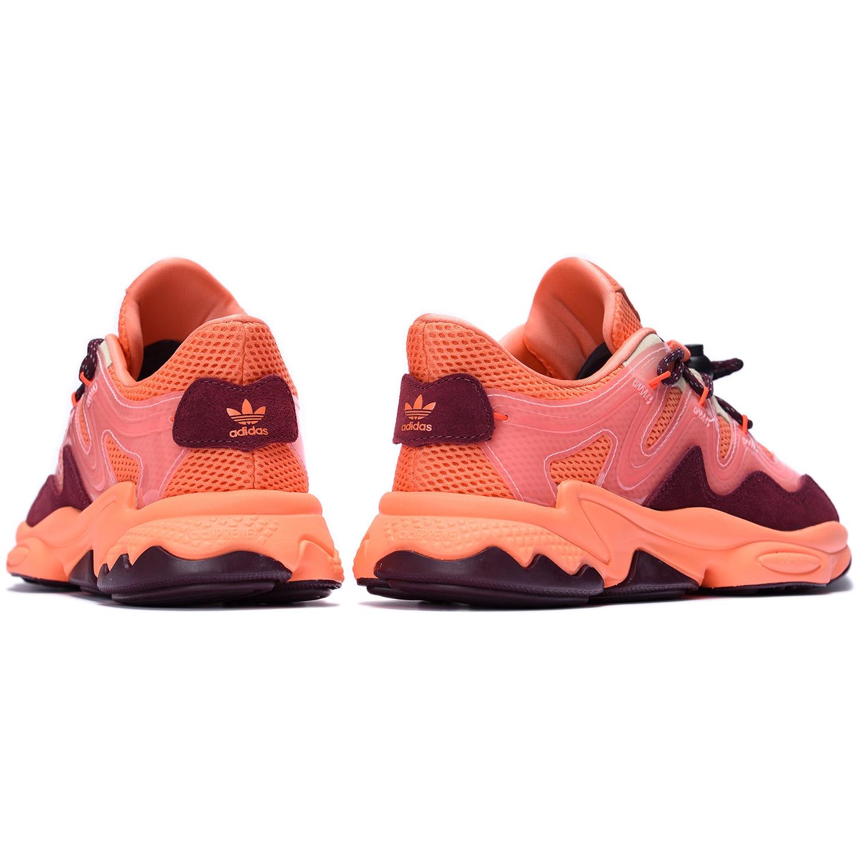 adidas Originals OZWEEGO PLUS Semi Coral / Maroon / Glow Pink