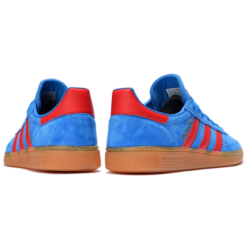 adidas Originals HANDBALL SPEZIAL Bright Blue / Vivid Red / Gold Metallic