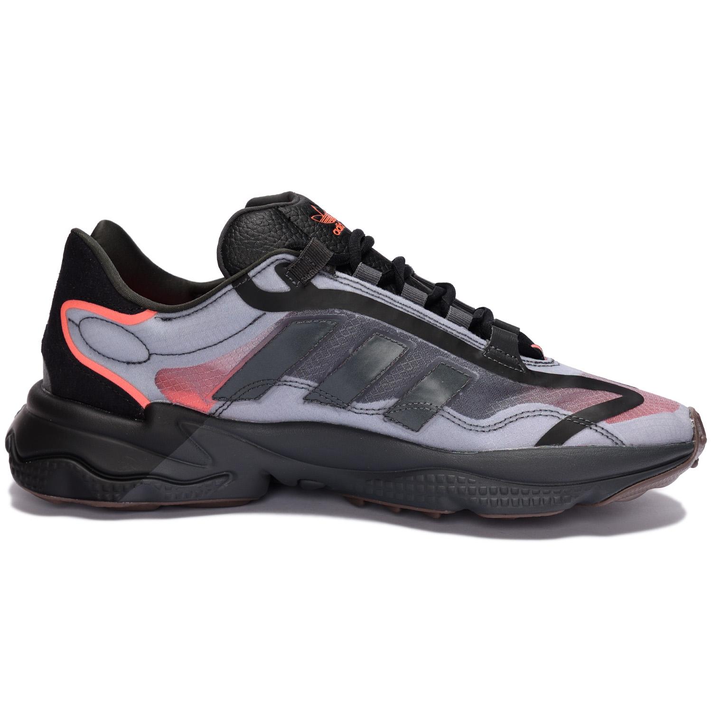 adidas Originals OZWEEGO PURE Grey / Grey Six / Solar Red