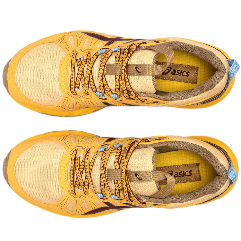 ASICS HN1-S GEL-VENTURE 7  Yellow / OX Brown
