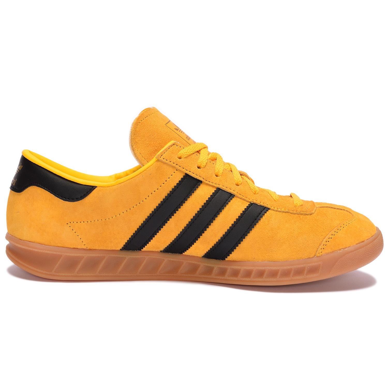 adidas Originals HAMBURG Crew Yellow / Core Black / Gold Metallic