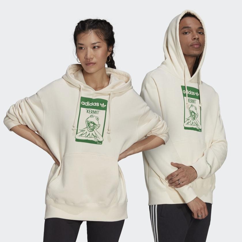 adidas Originals x Disney KERMIT ХУДИ (УНИСЕКС) Non Dyed