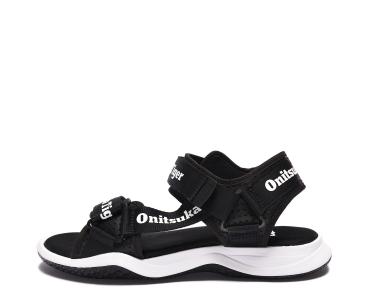 onitsuka tiger OHBORI STRAP. Black/White