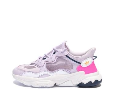 adidas Originals OZWEEGO LITE. Purple Tint / Purple Tint / Screaming Pink