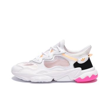 adidas Originals OZWEEGO LITE. Cloud White / Cloud White / Hazy Orange