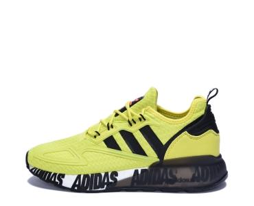 adidas Originals ZX 2K BOOST. Acid Yellow / Core Black / Cloud White