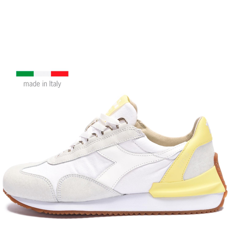 Diadora Heritage EQUIPE MAD ITALIA. WHITE/LIMELIGHT