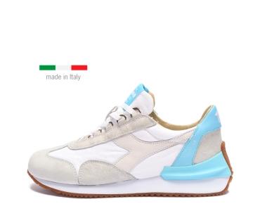 Diadora Heritage EQUIPE MAD ITALIA. WHITE/CRYSTAL GREY