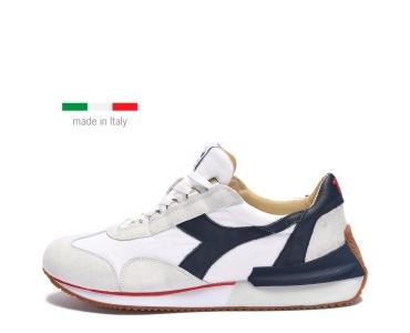 Diadora Heritage EQUIPE MAD ITALIA. WHITE/BLUE DENIM