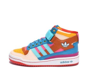 adidas Originals  х  S.E.E.D.  Multicolor / Pulse Aqua / Pink Tint