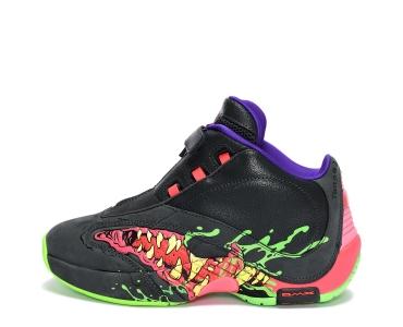 Reebok Ghostbusters Answer IV Men's Basketball Shoes True Grey 8 / Solar Green / Ultra Violet