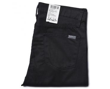 CARHARTT W RIOT PANT BLACK