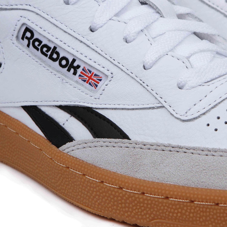 355dc8373dd71 Reebok REEBOK Revenge Plus Gum White Snowy Grey Black Gum