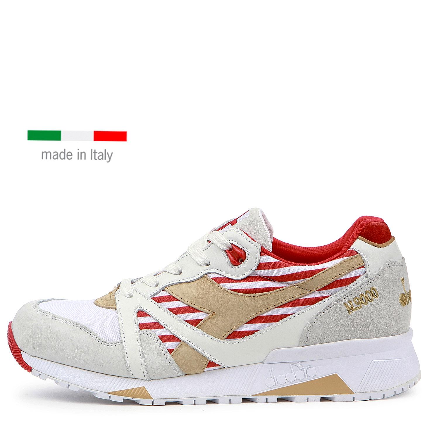DIADORA N9000 ITALY / white / red
