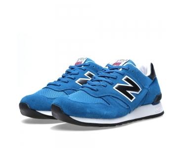 New Balance M670SBK Blue/Black
