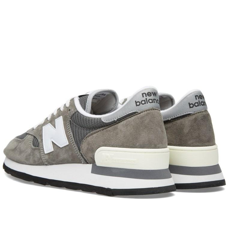 New Balance 990GRY Grey/White - N9SS