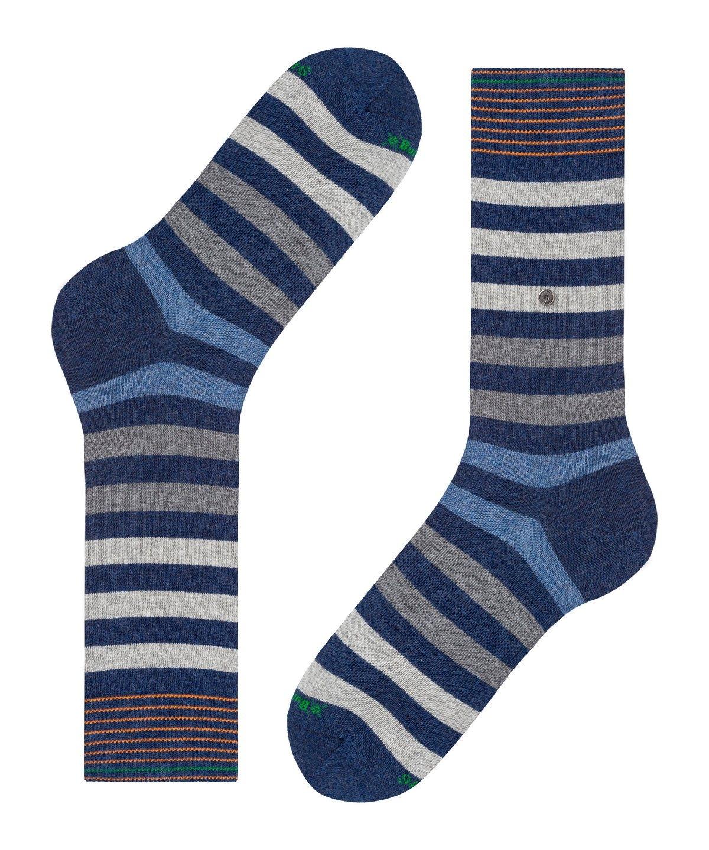 Burlington Blackpool Men Socks dark blue mel