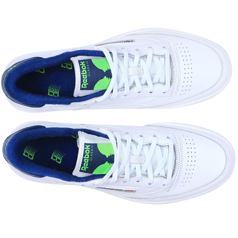 b97d31cd421 Reebok CLUB C 85 Х BRONZE NOBLE BLUE SUSHI GREEN WHITE 18FW-I