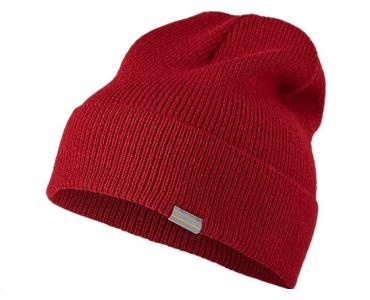 AsicsTiger шапка Logo Beanie BURGUNDY