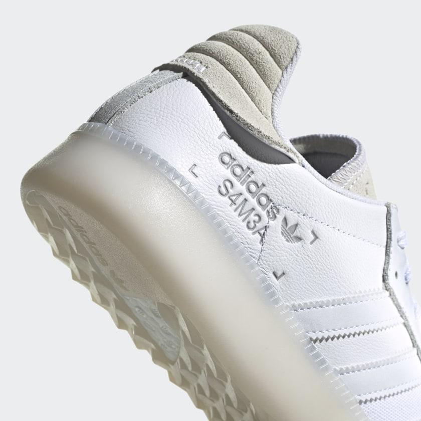 adidas Originals SAMBA RM CORE BLACK / SHOCK CYAN / GOLD MET