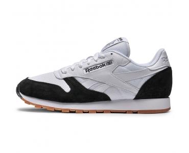 Kendrick Lamar X Reebok Classic Leather Perfect Split   White/Black