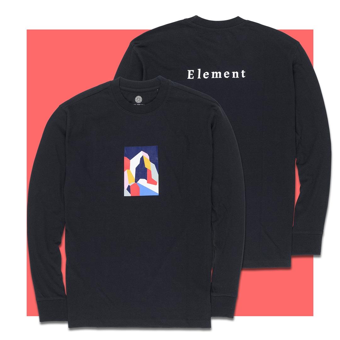Element x Severine Dietrich SD - HOODIE FLINT BLACK