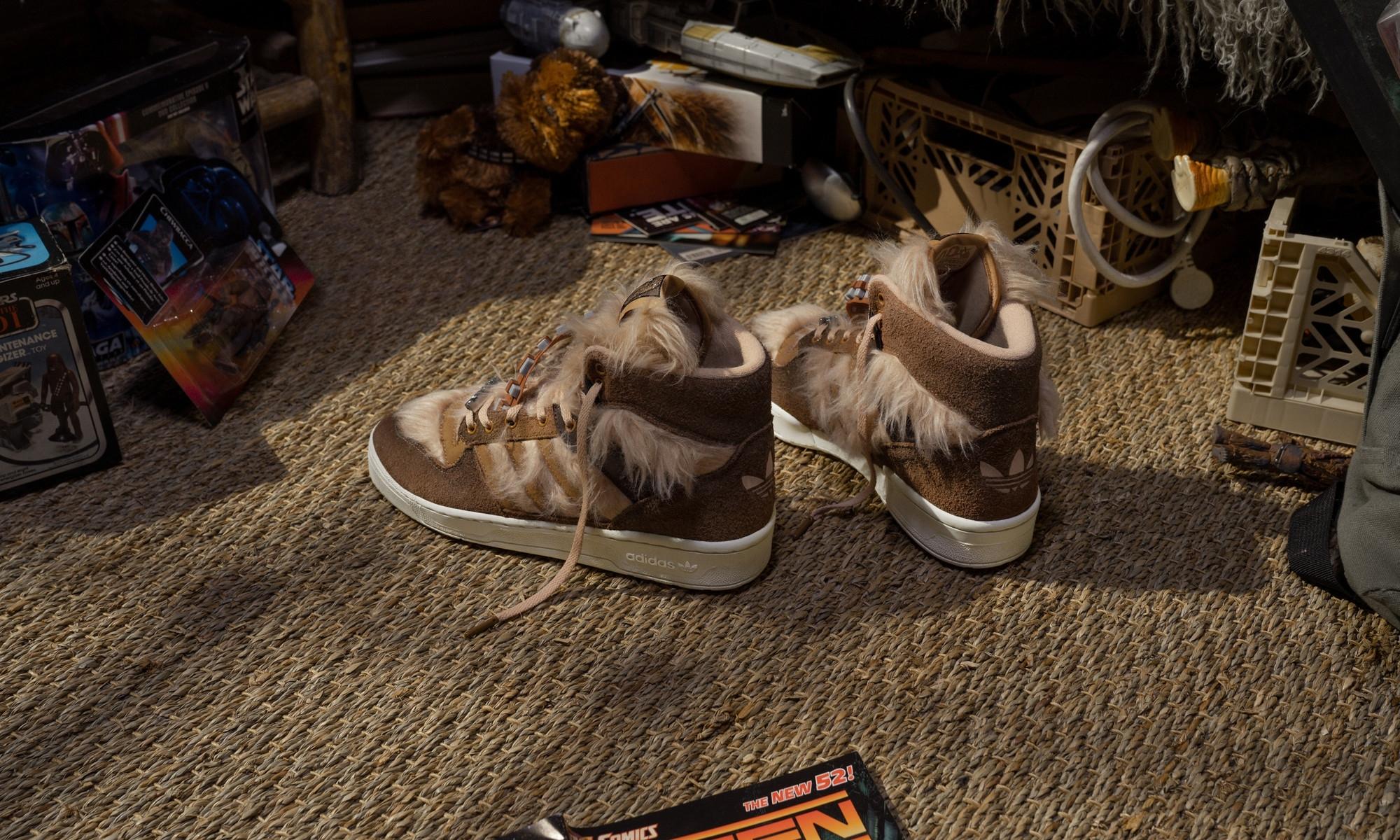 adidas Originals RIVALRY HI STAR WARS Raw Desert / Mesa / Chalk White