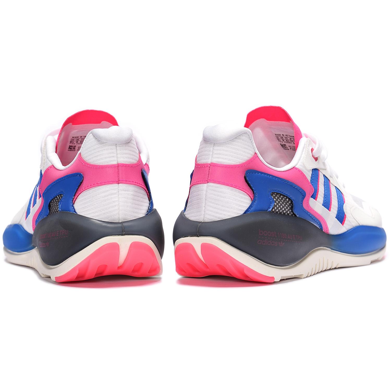 adidas Originals ZX Alkyne White/ Blue /Red